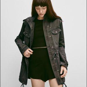 "Aritizia/Talula | ""Trooper"" grey utility jacket 💟"